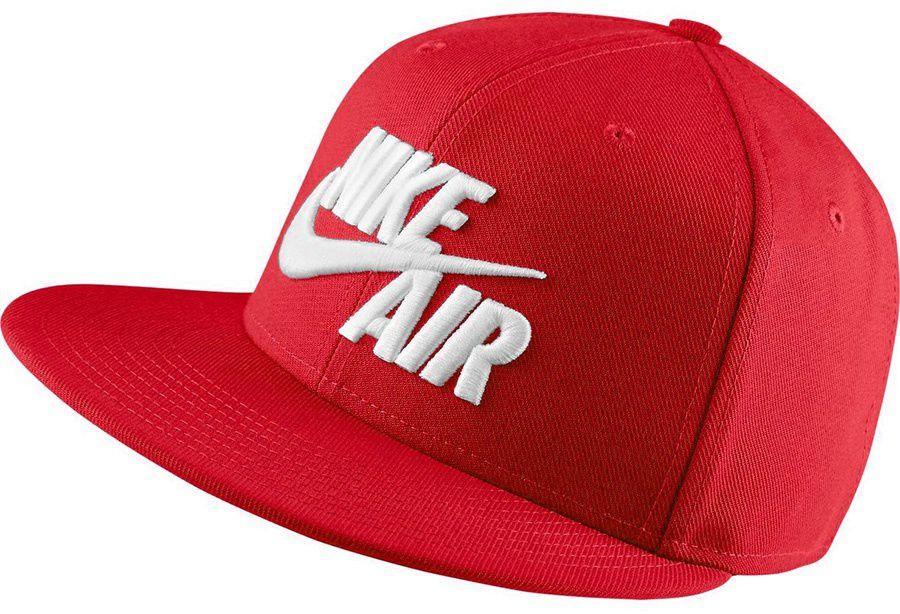 Nike Czapka U Nk Air True Cap Classic czerwona (805063 657 S) ID produktu: 1580572