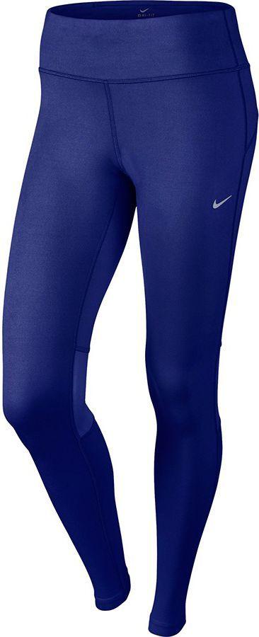 Nike Legginsy biegowe damskie Dri Fit Epic Run Tight granatowe r. L (646212 457) ID produktu: 1580990