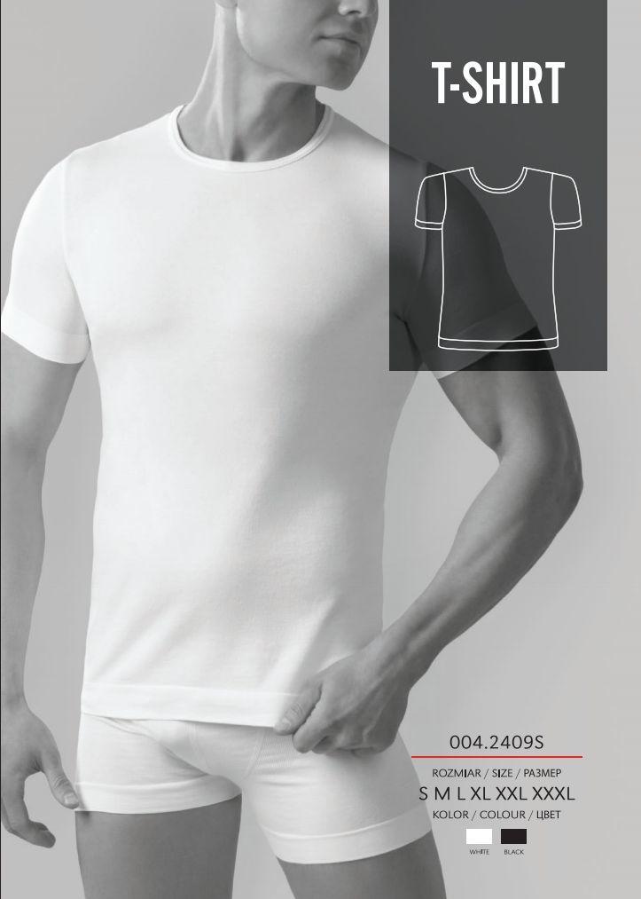 636070127 GATTA Koszulka męska Seamless Cotton T-Shirt 9S White r. M w Sklep-presto.pl