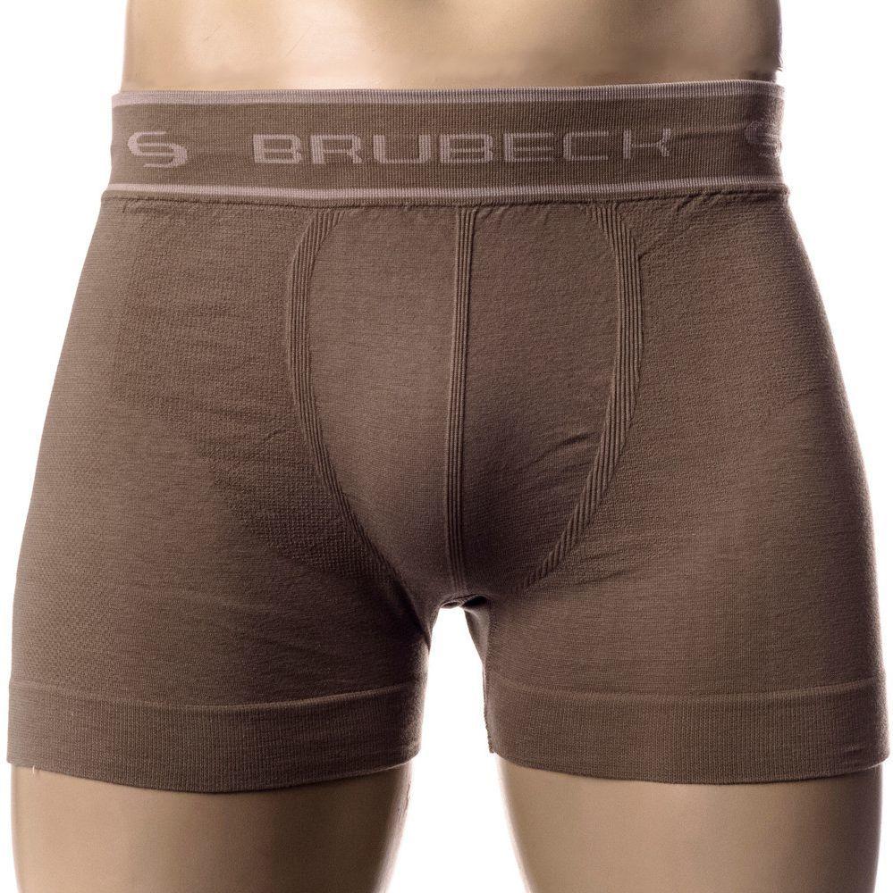 c6b0220ef79713 Brubeck Bokserki męskie Comfort Cotton brązowe r. XL (BX00501) w  Sklep-presto.pl