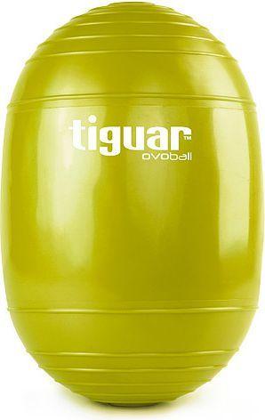 Tiguar Piłka gimnastyczna eliptyczna Ovoball 25x16,5cm T Tiguar oliwkowa r. uniw (I-V001O) 1
