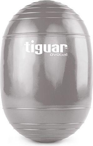 Tiguar Piłka gimnastyczna eliptyczna Ovoball 25x16,5cm Z Tiguar szara r. uniw (TI-V001S) 1