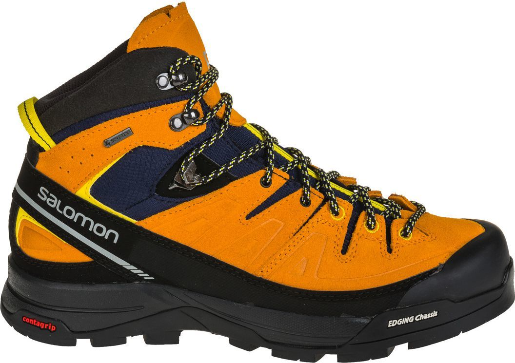 Salomon Buty męskie X Alp Mid Ltr GTX Navy BlazerBright MarigoldEmpire Yellow r. 46 (393251) ID produktu: 1593620