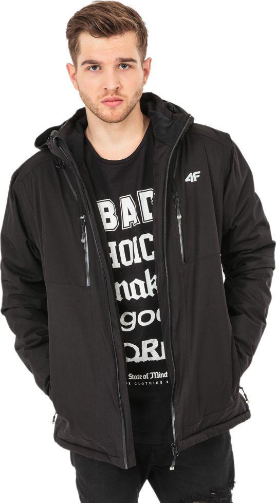 4f Kurtka narciarska męska H4Z17 KUMN006 czarna r. L ID produktu: 1594223