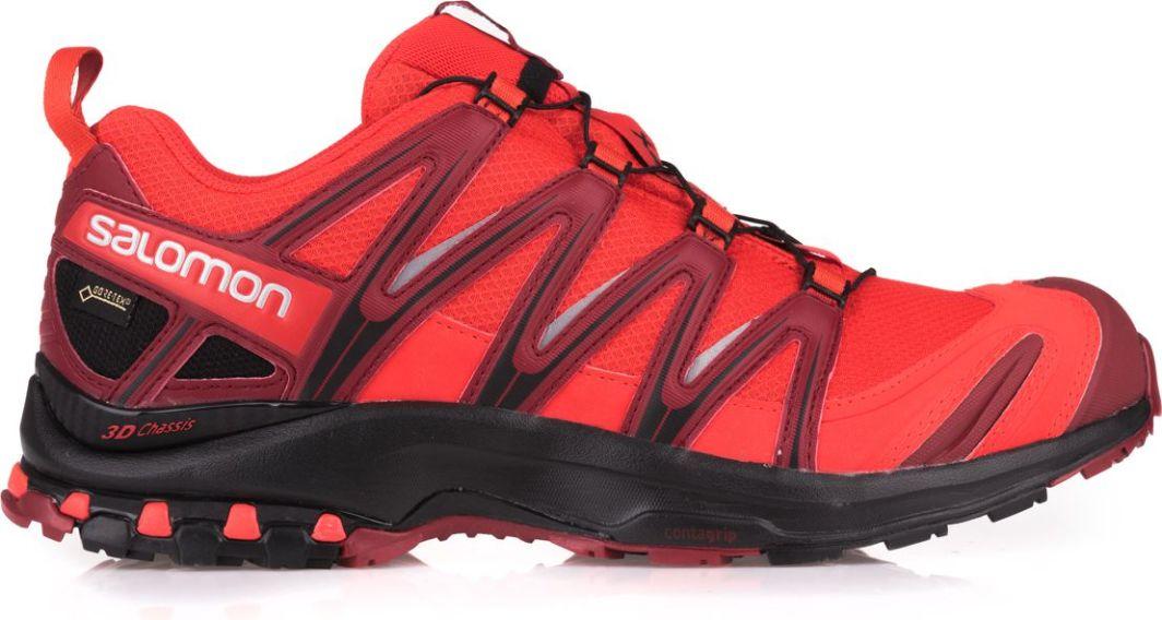 60e167351e8f6 Salomon Buty męskie XA Pro 3D GTX Fiery Red/Black/Red Dalhia r. 45 1/3  (393319) w Sklep-presto.pl