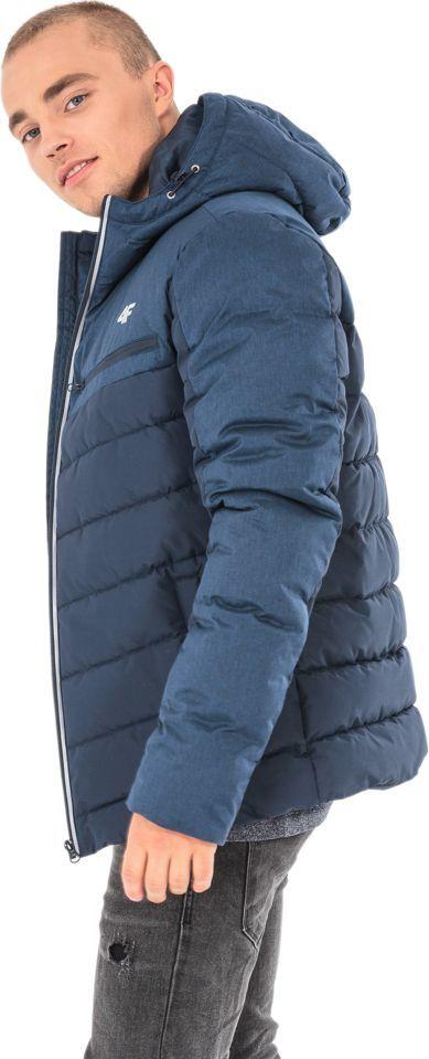 4f kurtka męska zimowa puchowa kum005