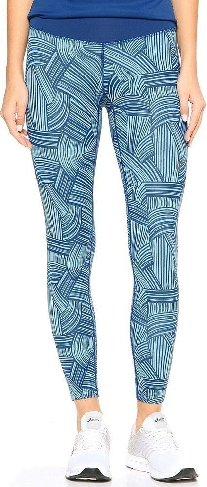 Asics Spodnie damskie FuzeX 7/8 Tight Asics Brush Kingfisher niebieskie r. S (1299901041) 1