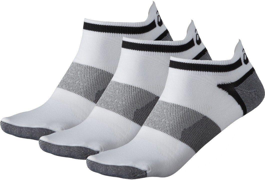 Asics Skarpetki do biegania Lyte 3 Pack White r. 47-49 (1234580001) 1