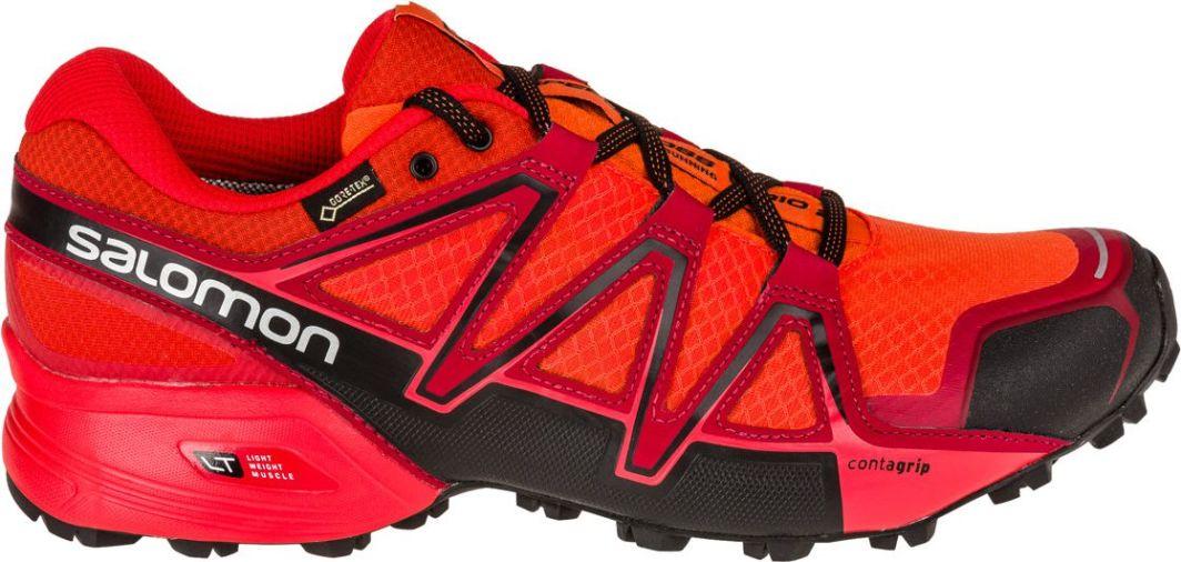 Buty Salomon Speedcross 3, czarny, czerwony, niebieski