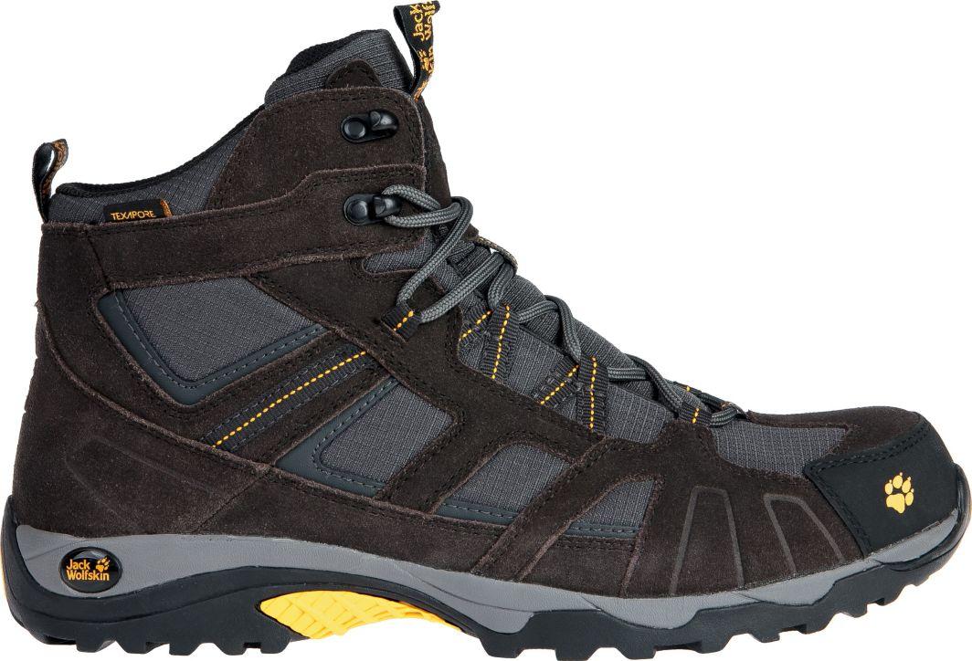 połowa ceny Cena hurtowa informacje dla Jack Wolfskin Buty męskie Vojo Hike Mid Texapore Men czarno-szare r. 42  (411361-38) ID produktu: 1597844