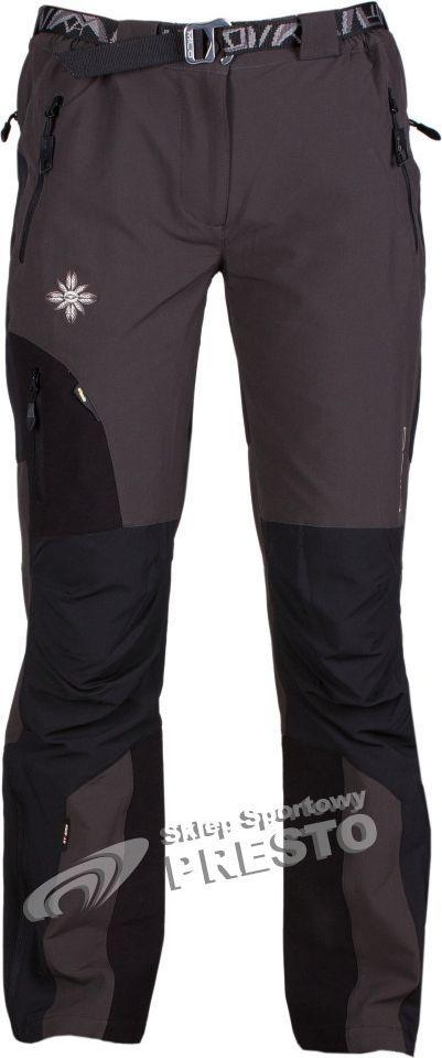 Milo Spodnie trekkingowe damskie Uttar szaro czarny r. L ID produktu: 1599259