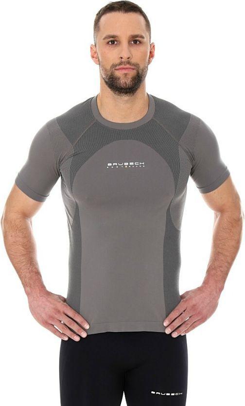 Brubeck Koszulka męska Dynamic Outdoor szara r. S (SS12510) ID produktu: 1599357
