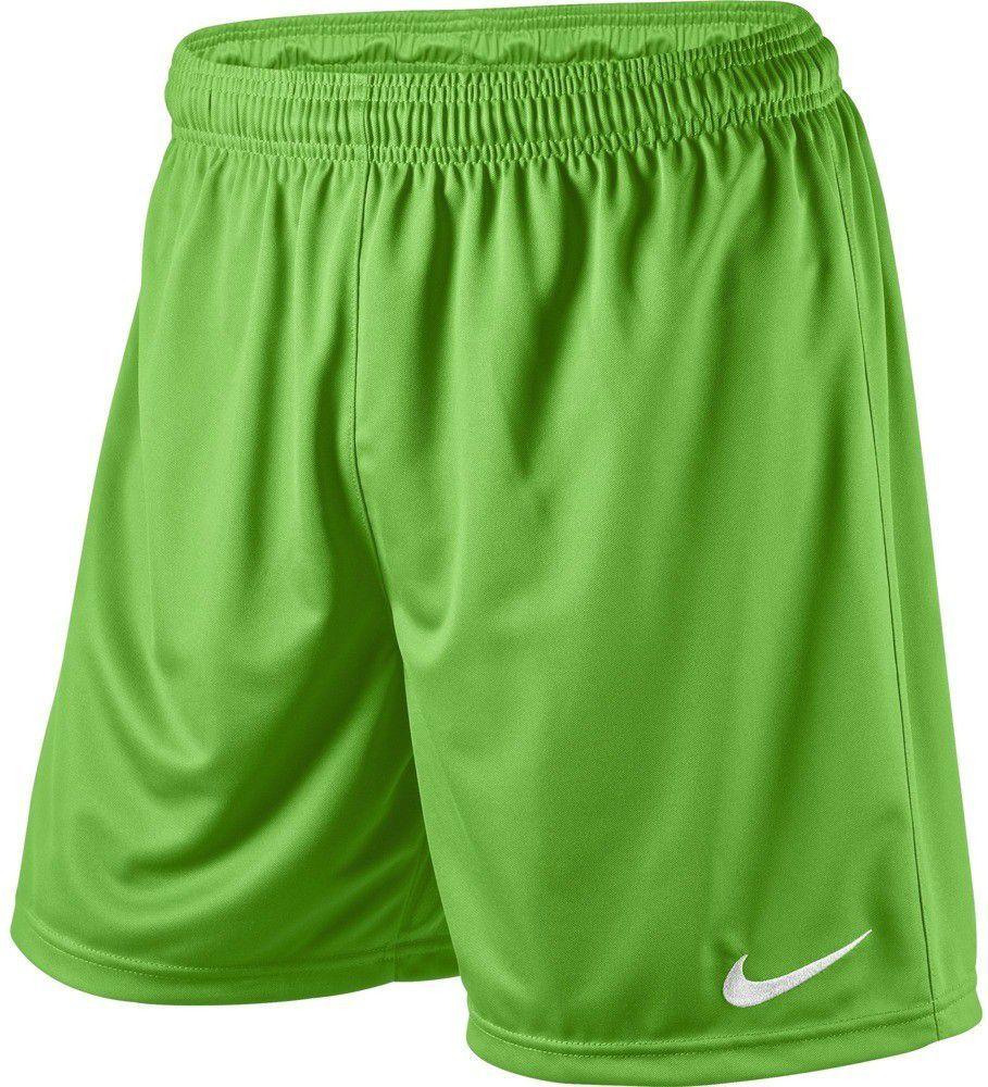 Nike Spodenki piłkarskie Park Knit Boys zielone r. XL (448263350) ID produktu: 1599503