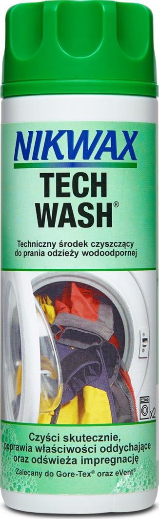 Nikwax Środek czyszczący do odzieży z membraną Tech Wash 300ml (NI-07) 1