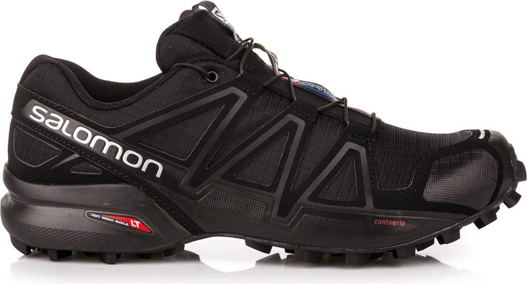 Salomon Buty męskie Speedcross 4 BlackBlackBlack Metallic r. 41 13 (38313) ID produktu: 1599866
