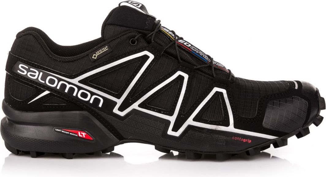 Salomon Buty męskie Speedcross 4 GTX BlackBlack r. 43 13 (383181) ID produktu: 1599869