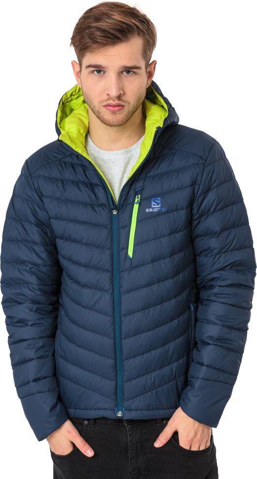 Salomon Kurtka męska Halo Down Hoodie Dress Blue r. XL (396983) ID produktu: 1600624