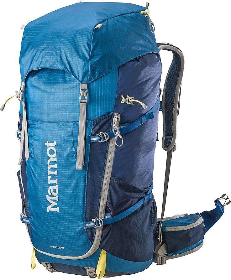 3f01b5dcf84bb Marmot Plecak turystyczny Graviton 48L niebieski (24150-2955) w Sklep -presto.pl