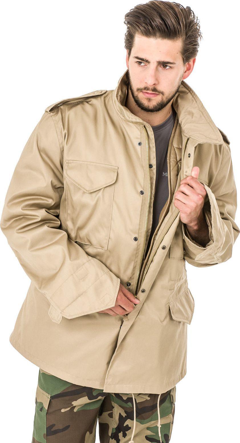 kurtka jasny beżowa męska