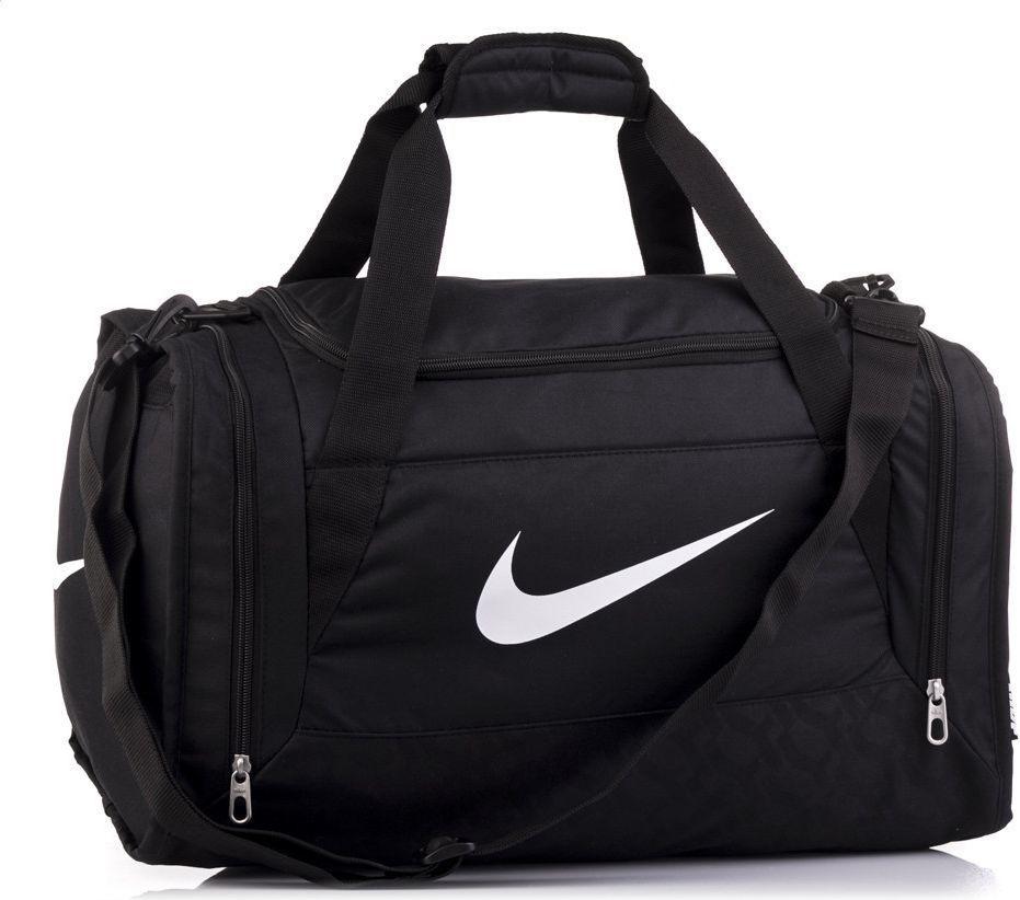 07e03b75d31be Nike Torba sportowa Brasilia 6 Small 44 Nike czarny roz. uniw (BA4831001) w  Sklep-presto.pl