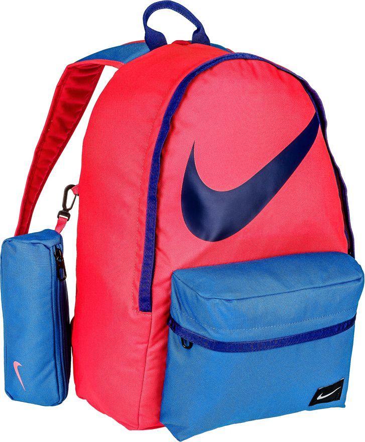 7cad7167870d0 Nike Plecak szkolny z piórnikiem Young Ath. Halfday Back To School 23 Nike  czerwono-niebieski roz. uniw (BA4665-671) w Sklep-presto.pl