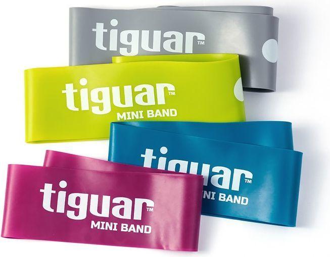 Tiguar Mini Band TI-MB0001 różne poziomy oporu w zestawie wielokolorowy 4 szt. 1
