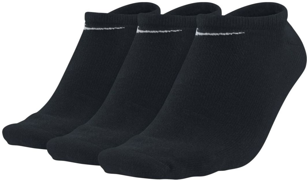 Nike Skarpetki Value No Show 3-Pack czarne roz. 42-46 (SX2554-1) 1