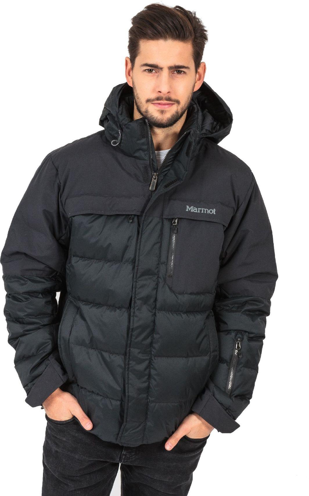 kurtka zimowa z puchu naturalnego szara 8082