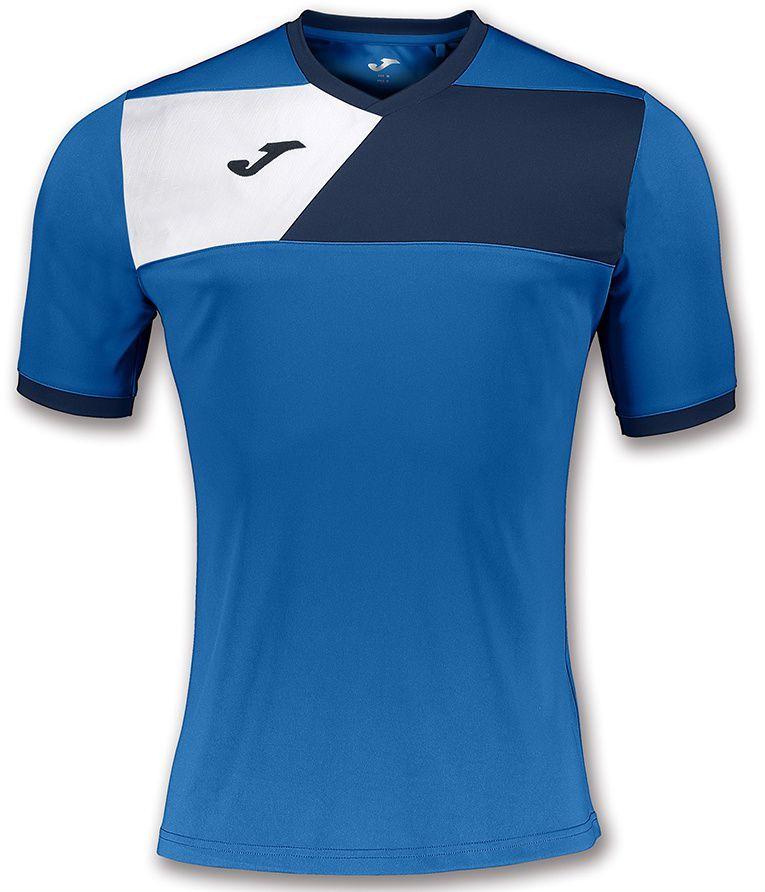 5348372cc Joma sport Koszulka piłkarska Crew II niebieska r. 152 cm (100611.703) w  Sklep-presto.pl