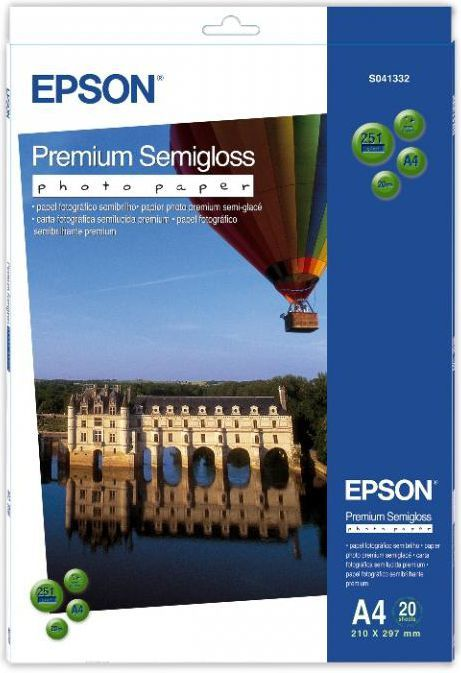 Epson Premium Semigloss Photo A4 (C13S041332) 20 ark 1