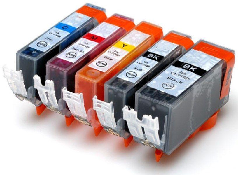 Activejet Tusz do drukarki Canon, zamiennik PGI-520Bk, CLI-521C, CLI-521M, CLI-521Y, czarny, cyan, magenta, yellow (AC-M520/521R) 1