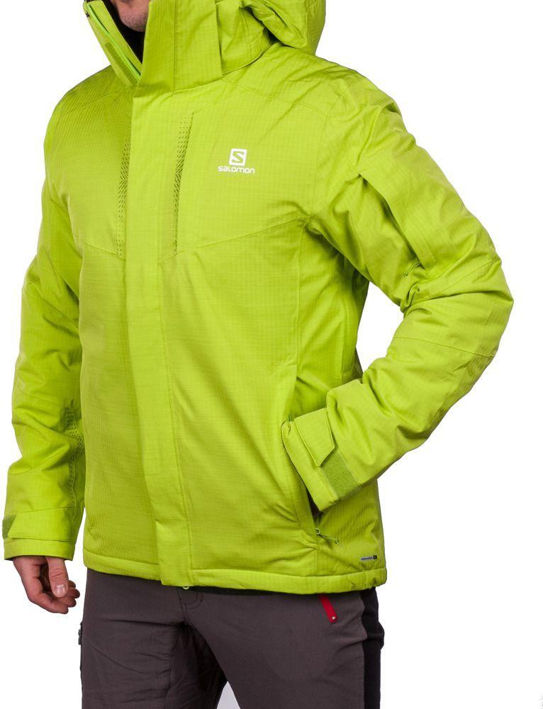 aac57a3b5763b Salomon Kurtka narciarska męska Stormspotter Jacket M 10.000 Salomon  Zielony r. L - 889645031705 w Sklep-presto.pl