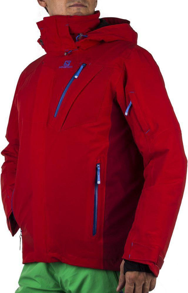 c8a18e7e98058 Salomon Kurtka narciarska męska Motion Fit Iceglory Jacket M 20.000 Salomon  Czerwony r. L - 887850248550 w Sklep-presto.pl