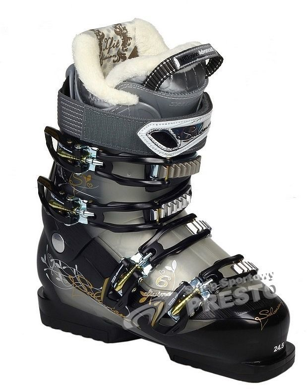 Salomon Buty narciarskie damskie Divine 6 20112012 srebrno szare r. 25.5 cm ID produktu: 1608188