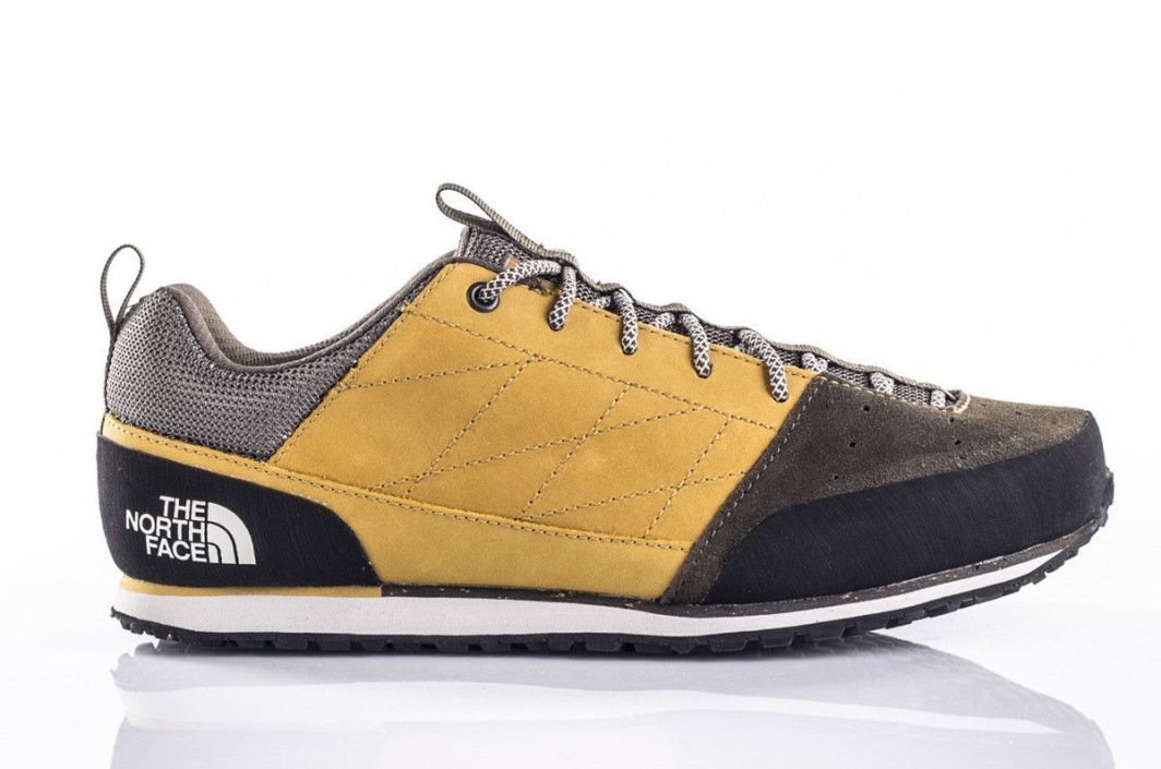 The North Face Buty męskie Scend Leather Arrowwood YellowNew Taupe Green r. 41 ID produktu: 1608633