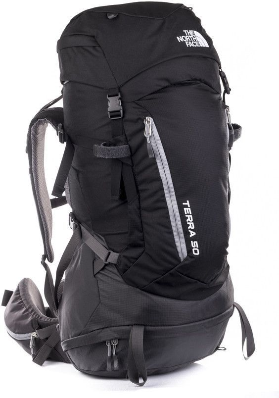 sekcja specjalna moda dobra tekstura The North Face Plecak turystyczny damski Terra 50 L/XL The North Face  Black/Monument Grey uniw - 715752237603 ID produktu: 1608647
