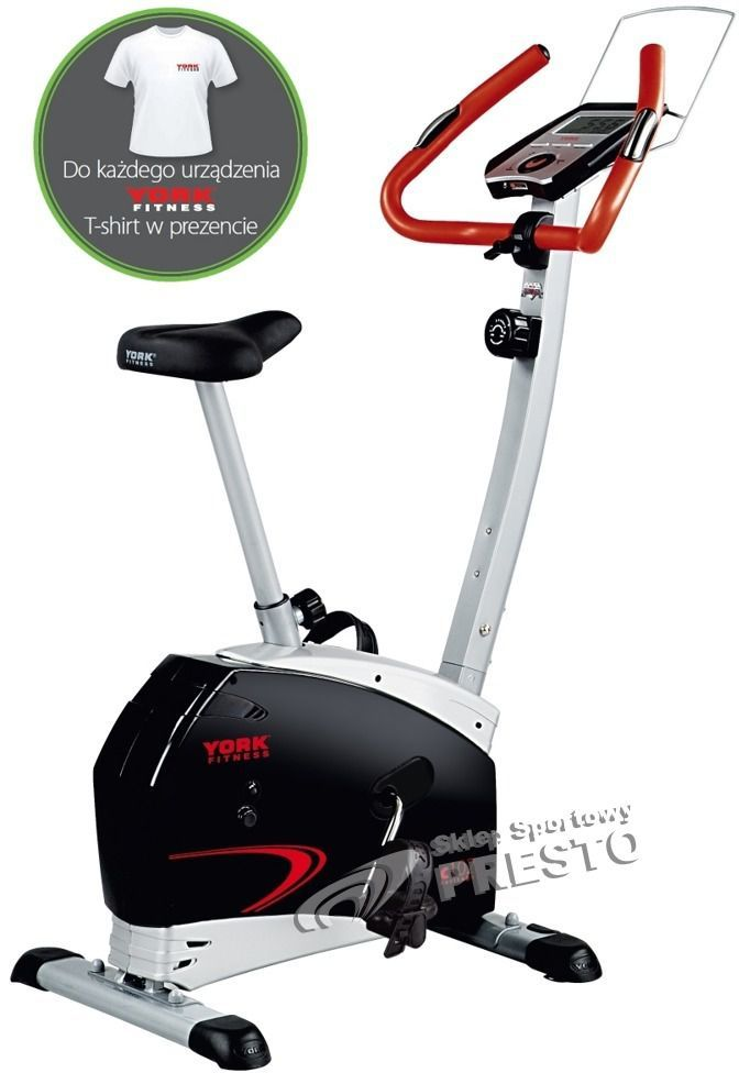 e4f42eeeb York Fitness Rower magnetyczny C102 York Fitness + koszulka GRATIS! uniw -  2000491000005 w Sklep-presto.pl