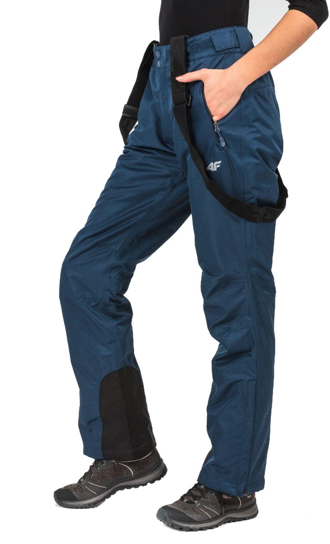 573b3e449 4f Spodnie narciarskie damskie H4Z17-SPDN001 Granatowe r. L w  Sklep-presto.pl