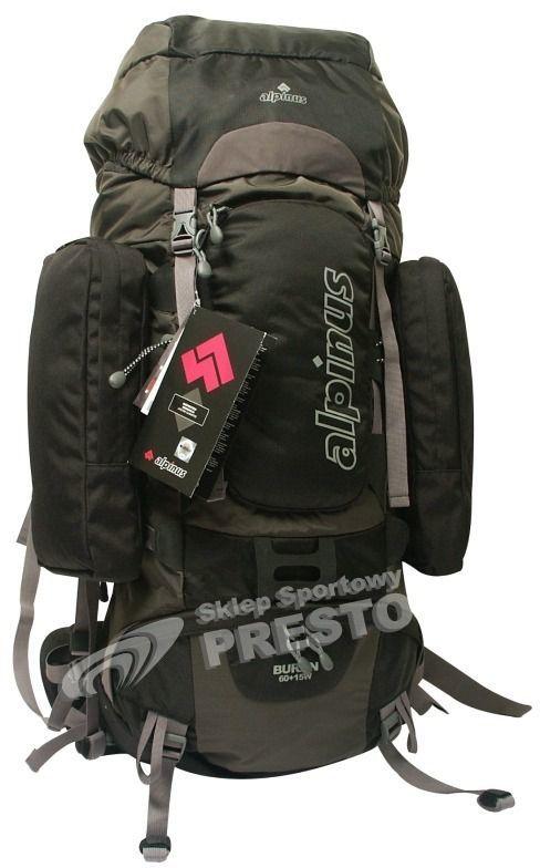 Alpinus Plecak turystyczny Alpinus Buran 60 szaro czarny uniw 5900787310512 ID produktu: 1609573