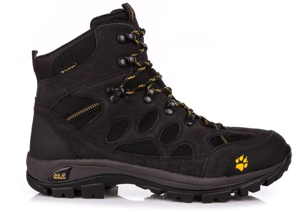 popularne sklepy Kup online sprzedawca detaliczny Jack Wolfskin Buty trekkingowe męskie All Terrain 7 Texapore Mid Men  Phantom r. 41 (4017871) ID produktu: 1609966