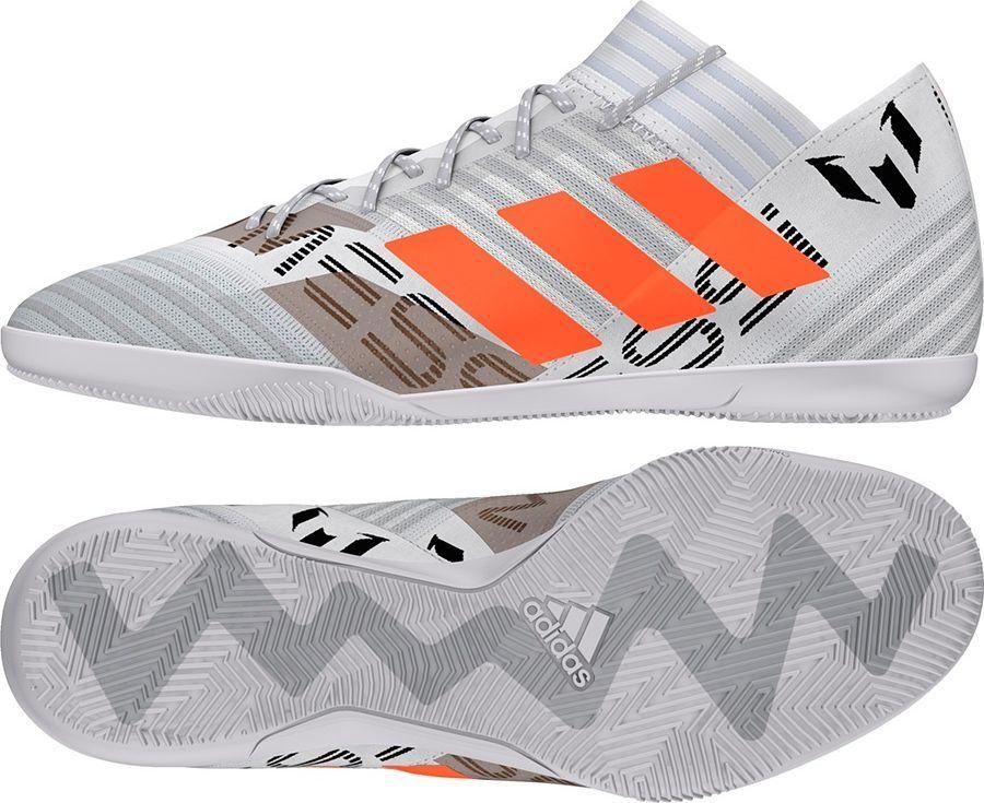 Adidas Buty piłkarskie Nemeziz Messi Tango 17.3 Indoor Boots biało szare r. 42 23 (CG2967) ID produktu: 1611061