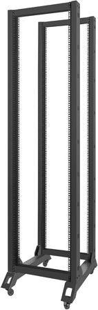 Szafa Lanberg open rack 19'' 42U 600x800mm czarna (OR01-6842-B) 1