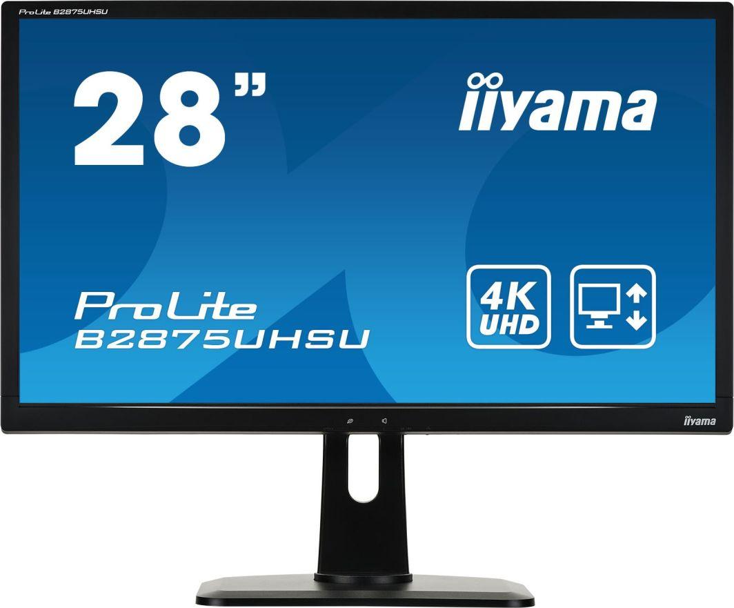 Monitor iiyama ProLite B2875UHSU-B1 1