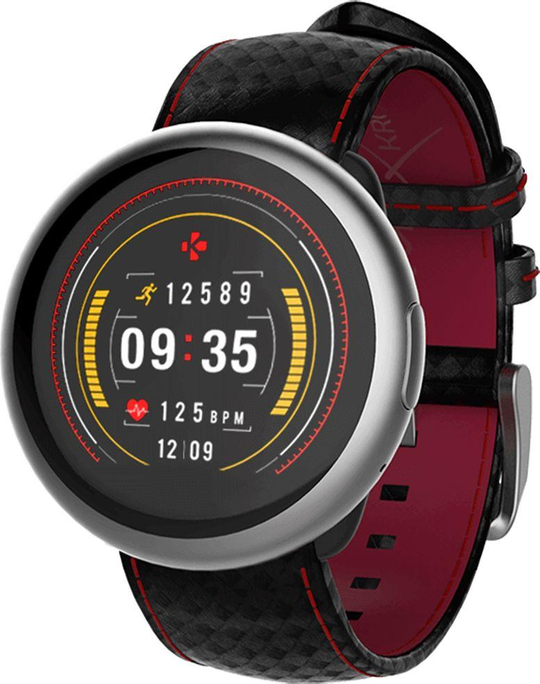 Smartwatch MyKronoz Srebrny  (KRZEROUND2HR-SILV) 1