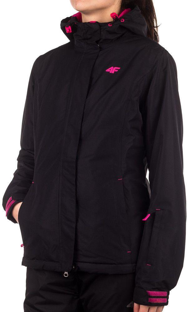 4f Kurtka damska KUDN011 3.000 czarno różowa r. XL ID produktu: 1614566