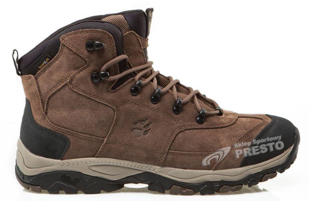 tanie jak barszcz świetne dopasowanie 50% zniżki Jack Wolfskin Buty trekkingowe zimowe męskie Sherwood Texapore Jack  Wolfskin 46 - 4052936195288 ID produktu: 1614781