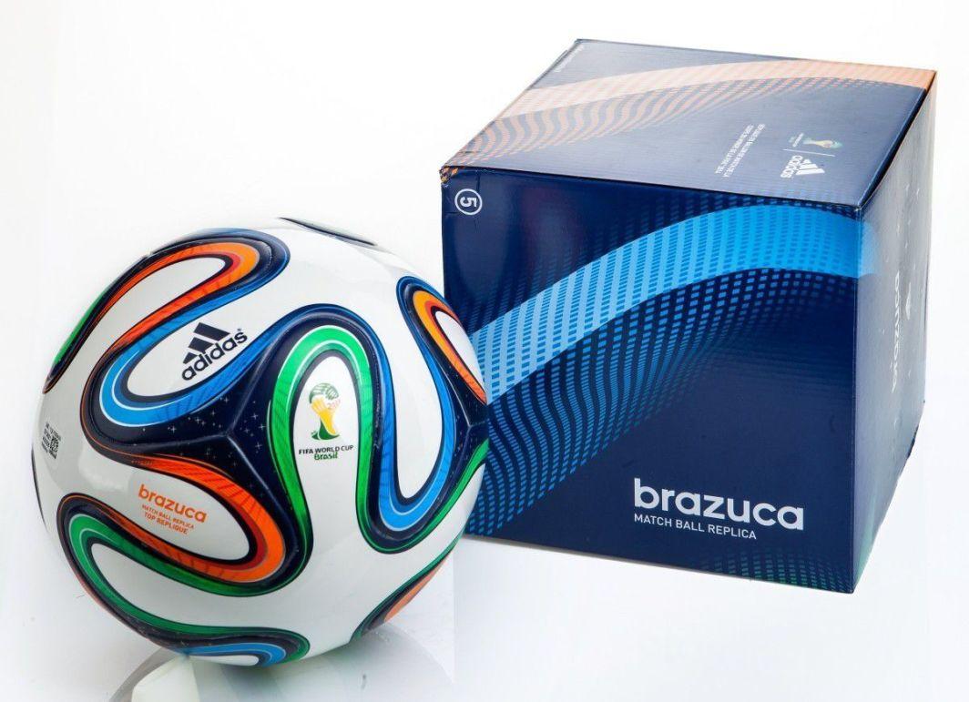 e4f64396d94b Adidas Piłka nożna World Cup 2014 Brazuca Top Replique 5 Adidas uniw -  4054069080851 w Sklep-presto.pl