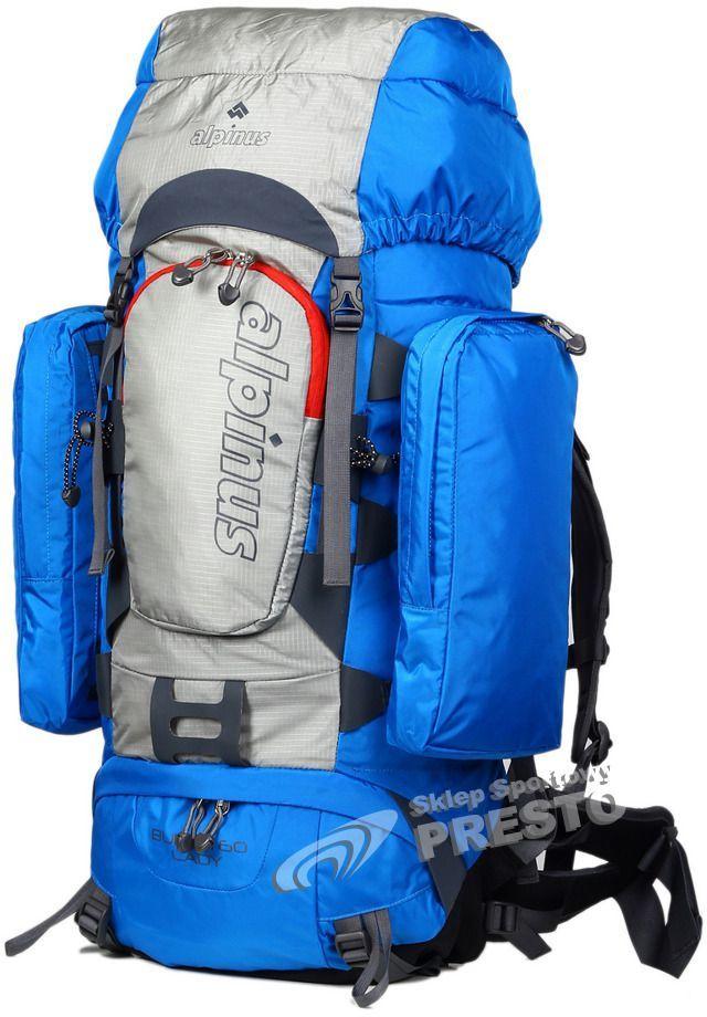 b8c1ff582 Alpinus Plecak turystyczny Buran 60 Lady Alpinus niebiesko-szary uniw -  5900787473002 w Sklep-presto.pl