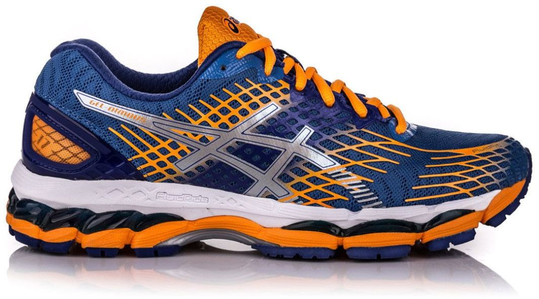 Asics Running Shoes Women Gel Nimbus 17, Damskie buty do biegania, niebieskie