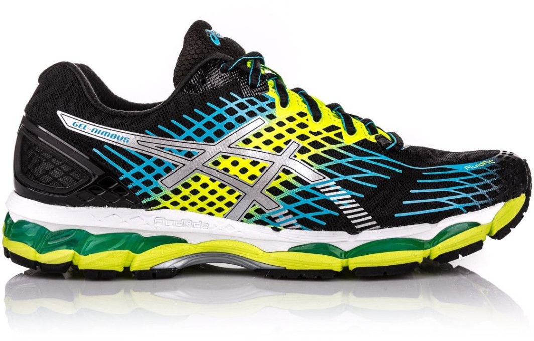 Asics Buty męskie Gel Nimbus 17 BlackFlash YellowIndigo Blue r. 42 ID produktu: 1616373
